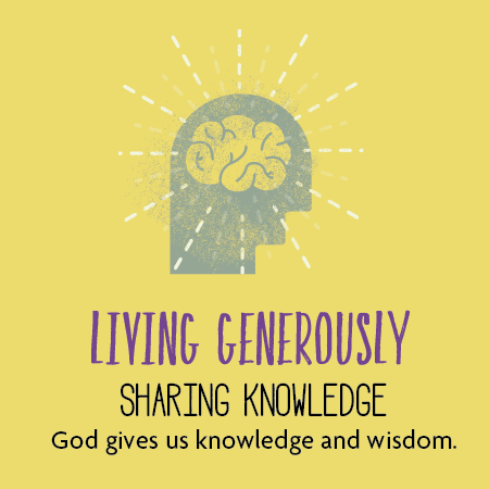 Living generously sharing knowledge st andrews for Generous living