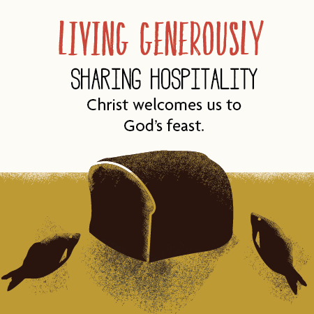 Living generously sharing hospitality st andrews for Generous living